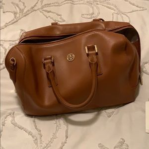 Tory Burch Camel Doctor's Bag - retail $495
